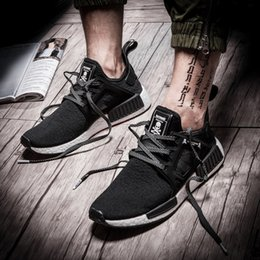 Wholesale Women X Sports - New NMD XR1 runner Mastermind Japan X mmj master mind boost Primeknit PK black men women Running Shoes Sports Shoes sneakers Size 36-45