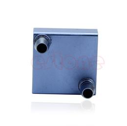 Wholesale Cpu Water Cooling Radiator - Wholesale- Aluminum Water Cooling Block for CPU Radiator Liquid Water Heatsink Cooler GPU