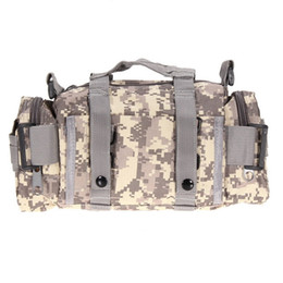 Wholesale Bag Oxford Waterproof - Tactical Bag Sport Bags 600D Waterproof Oxford Fabric Military Waist Pack Molle Outdoor Pouch Bag for Camping Hiking B04