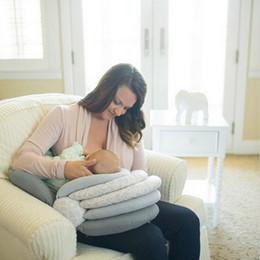 Wholesale Infants Feeding - Baby Pillows Multifunction Nursing Breastfeeding Layered Washable Cover Adjustable Model Cushion Infant Feeding Pillow Baby Care