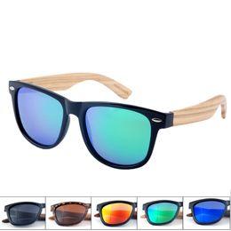 Venda por atacado - Venda quente de madeira de bambu óculos de sol homens  polarizados óculos de madeira Moda marca Designer de óculos de sol Oculos  De Sol ... 61018c4398