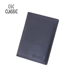 Wholesale Free Passport Photo - Wholesale- Men&Women Genuine Leather Passport Cover Passport Card Bag cowhide Passport Holder multi card holder Free shipping