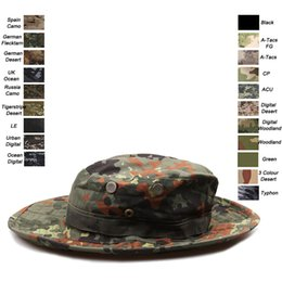 Wholesale marines hats - Outdoor Sports Camo Navy Cap Airsoft Gear Marines Army Hunting Combat Assault Tactical Camouflage Hat SO07-005