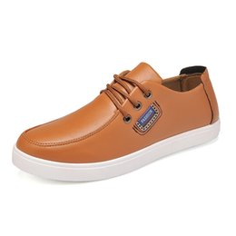 Wholesale Cheap Dress For Work - Men Leather Shoes Casual Genuine Leather Shoes Men Oxford New Fashion Lace Up Dress Outdoor Work Sapatos cheap shoes for men