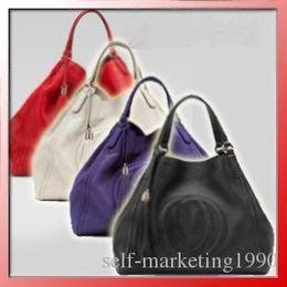 Wholesale Fashion Hobo Handbags - New Women Fashion Shoulder bag, leather bag handbag ,HOT SALE WOMEN BAGS SHOULDER HOBO BAG TOTE HANDBAGS ,Closure type hasp bags 282308