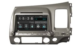 Wholesale Gps For Honda Civic - Navirider car dvd player for Honda Civic RHD audio headunit stereo wince6.0 dual core 256MB Capactive touch 1080P DVR 3G WIFI TPMS GPS radio