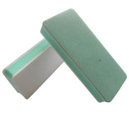 Wholesale Shine Buffer - Wholesale- 50 pcs nail shining buffer for nail shining nail polishing file high quality manicure tool free shipping