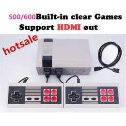 Wholesale Mini Usb Video Player - HD HDMI Out Retro Classic handheld game player Family TV video game console Childhood Built-in 500 Games For nes mini HDMI HD