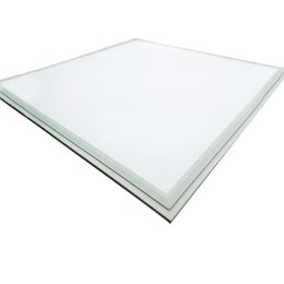 Wholesale White Frame square led panel light x60 x600 mm x2 ft w w w dimmable led ceiling lights LED flat flush mount lamp