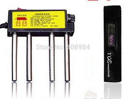 Wholesale Digital Tds3 - Wholesale- free by fedex dhl 100pcs lot hot sales Pure water electrolyzer tester +Digital LCD TDS Meter Filter Pen Stick TDS3 TEMP PPM