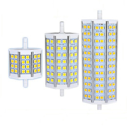Wholesale dimmable floodlight - R7S LED 10W 12W 15W 20W 5050 corn bulb 78mm 118mm 189mm LED R7S bulb lamp NO-dimmable 5050 corn lamp Halogen Floodlight 85V-265V
