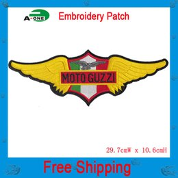 Wholesale Military Motorcycle Patches - Military Patches Embroidered Motorcycle Patch Iron on or Sew On