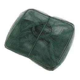 Wholesale Bait Fishing Nets - 2016 New Foldable Crab Fish Crawdad Shrimp Minnow Fishing Bait Trap Cast Net Cage