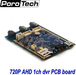 Wholesale Mini Dvr Xbox - Wholesale- 1CH Mini AHD XBOX DVR PCB Board 30fps Security Digital Video Recorder Support 128GB SD Card 1pcs free shipping