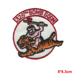 Wholesale Desert Tan - USAF AIR FORCE 325TH BOMB SQUADRON B-2 STEALTH BOMBER OEF OIF DESERT TAN PATCH