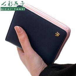 Wholesale Free Passport Photo - Wholesale- 2017 Women Purse Short Wallet Clutch Lovely Vintage Ladies Handbag Hot Sale Fashion Clutch Card Holder Gift Free Shipping J440