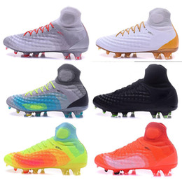 Wholesale Discount Indoor Soccer Shoes - Discount cheap Magista II FG football shoes,Training Sneakers Cleats Boost,3D ACC waterproof Magista OBRA II FG Running Shoes,Soccer Boosts
