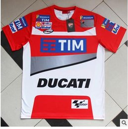 Wholesale Country Patch - New cross-country motorcycle outdoor locomotive short sleeve T-shirt QiShiFu cycling jerseys overalls downhill ducati jackets