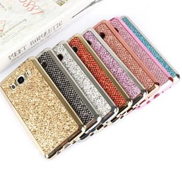 Wholesale Galaxy S4 Luxury - Luxury Glitter Bling TPU Case For Samsung Galaxy S4 S5 S6 S7 Edge A5 A510 A710 2016 A310 Grand Prime G530 Core G360 Duos i9082 Note 4 5 Case