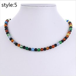 Wholesale Real Green Jade - 2017 Real AAA Natural jade necklace 5 colour fashion for women free shipping Factory direct sale