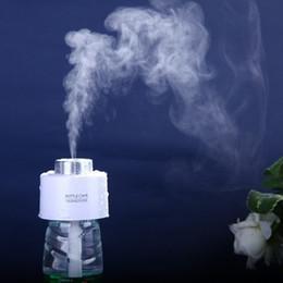 ambientador de habitación Rebajas Al por mayor-Único Mini Ambientador USB Gadgets Botella portátil Steam Air Mist Descarga Sala de oficina del coche se puede agregar perfume fácil de llevar
