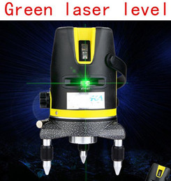 Wholesale Green Laser Cross - Freeshipping Green laser multifunction laser cross line rotating self-leveling green laser level 360