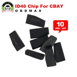 Wholesale Land Rover Ids - 100% Original ID46 Chip for CBAY Hand-held Car Key Copy [10pcs lot ] Auto Key Programmer ID 46 Chip ID46 Transponder Chip Free Shipping