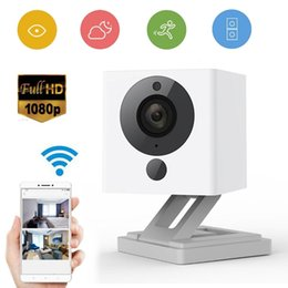 Wholesale Ip Zoom - 32GB Original Xiaomi XiaoFang 110 Degrees F2.0 8X Digital Zoom 1080P Night Vision WiFi IP Smart Network Surveillance Camera Mini Camera