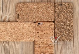Wholesale Design Plastic Case For Iphone - Mixed Model and Design for iPhone 5 5s 6 6s 6+ 6splus 7 8 7+ 8+ X Cork Slim Cork PC Wood Case
