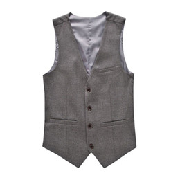 Wholesale Fashion Men s Vests New Style Solid Slim Fit Vest Mens Clothing Trend Casual Business Mens Suit Vests Gentleman Social Vest XL