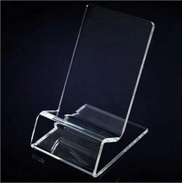 Акриловый сотовый телефон дисплей мобильного телефона стенды держатель стенд для 6 дюймов iphone samsung HTC xiaomi huawei горячее надувательство от