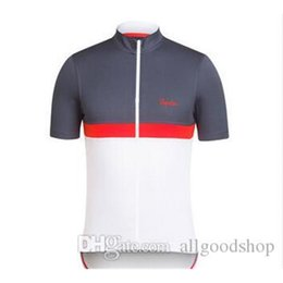 Wholesale Cycling Jersey Short Sleeve Black - 2016 Rapha Cycling Jerseys Short Sleeves Summer Cycling Shirts Cycling Clothes Bike Wear Comfortable Breathable Hot New Rapha Jerseys