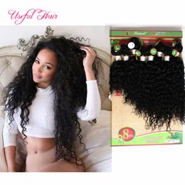 Wholesale Kinky Curly Hair Pieces - Lowest price human hair extensions peruvian loose wave 250 deep curly hair Brazilian human braiding 8bulks kinky curly blended weft hair