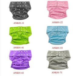 Wholesale Diaper Adults - 1pcs New Arriving Adult Cloth Diapers Washable Pocket Adult Pants Resuable Adult Diaper with 6 Colors Free Shipping