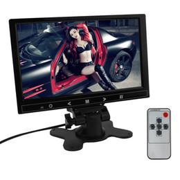 2019 auto armaturenbrett tvs 9-Zoll-Auto-RGB-Digitalanzeige 2 Video-Eingang Rückansicht VCR-Monitor mit Touch-Taste CMO_30F