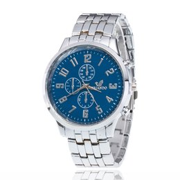 Wholesale Hottest New Business - Geneva Ms hot style supplies best-selling three eye six stitches steel band watch Business men watch Watch men's