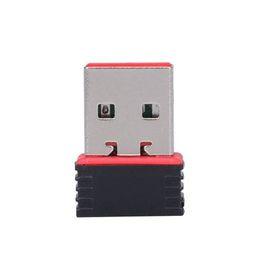 Wholesale Wifi Mini Wireless Fast - Fast shipping Nano 150M USB Wifi Wireless Adapter 150Mbps IEEE 802.11n g b Mini Antena Adaptors Chipset MT7601 Network Card