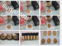 Wholesale Blue Concealer - Factory Direct DHL Free Shipping New Makeup Super Quality MA30 Studio Fix Foundation Liquid!30ml