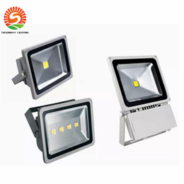Discount led projection floodlights - 2pcs BY DHL 30W 20W 10W 50W 100w 150W 200W LED flood light spot light projection lamp Advertisement Signs lamp Waterproof outdoor floodlight