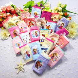 Wholesale Underwear Panties Boys Kids - children panties mickey frozen princess cat cartoon kids shorts underwear Big boys Girls Briefs panties brief Kids Cute cotton underpants
