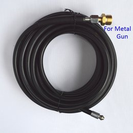 Wholesale Cleaning Hose - Wholesale-Compatible 10m x 155bar Sewer Drain Water Cleaning Hose for Metal Gun of High Pressure Washer
