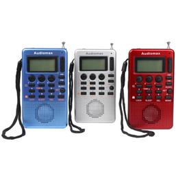 Wholesale Music Player Timer - Portable FM AM Radio MP3 Music Player USB Speaker Receiver with Alarm Clock Sleep Timer FM Radio FM Y4115