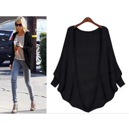 Wholesale Slash Burst - Wholesale-2016 Europe and the United States burst bat sleeve cardigan sweater jacket