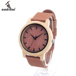 Wholesale Japanese Watches For Men - Wholesale- BOBO BIRD D09 New Arrival Red Wood Watch For Women And Men With Japanese Miyta Movement Mens Quartz watch In Gift Box