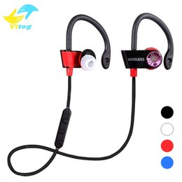 Wholesale Headset For Mp3 Player - 2017 NEW Style Newest Sport Wireless Bluetooth SE-4805 Headphones Headset Auruculares Bluetooth for Phone Computer Mp3 Player.