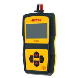 Wholesale Launch Tester - 2017 hot sale Original Launch Bt360 Battery Tester with Portable Design AS bst-460 bst460 battery tester-EA