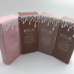 Wholesale Glow Dark Sun - Kylie Born To Glow Liquid High Light Makeup Foundation Kylie Liquid illuminator Cosmetic BB concealer cream 45ml DHl Shipping