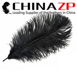 Wholesale Events Party Suppliers - Leading Supplier CHINAZP Factory 100pcs Black ostrich feather for Wedding centerpieces table centerpiece decor party event decor