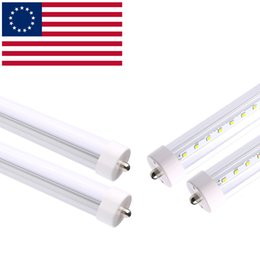 """Wholesale T8 Fluorescent Tube Covers Frosted - 50-Pack 96"""" 8ft 45Watt T8 LED Tube, Frosted cover with FA8 single pin 6000K Daylight White, 4800LM,90Watt T12 Linear Fluorescent Tube"""
