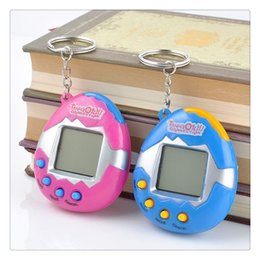 Wholesale Children Plastic Toys - High Quality Funny Vintage Retro Game 49 Pets In One Virtual Pet Cyber Toy Tamagotchi Digital Pet Child Toy Random Retro Game Kids